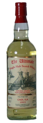 Caol Ila 11 yo Cask by Ultimate 2003 Scotch Whisky