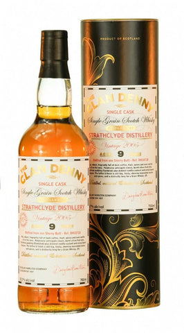 Strathclyde Single Grain Scotch Whisky by Clan Denny