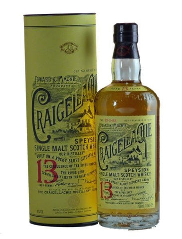 Craigellachie 13 yo single malt Scotch Whisky