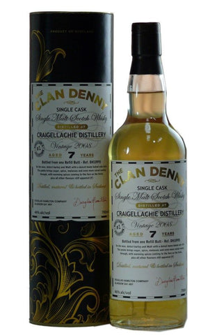 Craigellachie Single Malt Scotch Whisky by Clan Denny