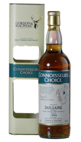 Dailuaine Scotch 15 yo whisky 1998 by Connoisseur's Choice