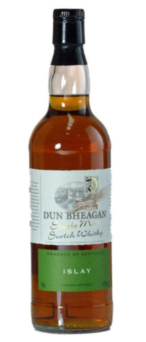 Islay  single malt whisky by Dun Bheagan