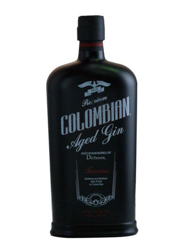 "Dictador Columbian aged gin ""Treasure"""