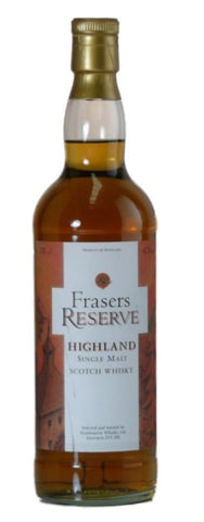 Frasers Reserve highland single malt whisky