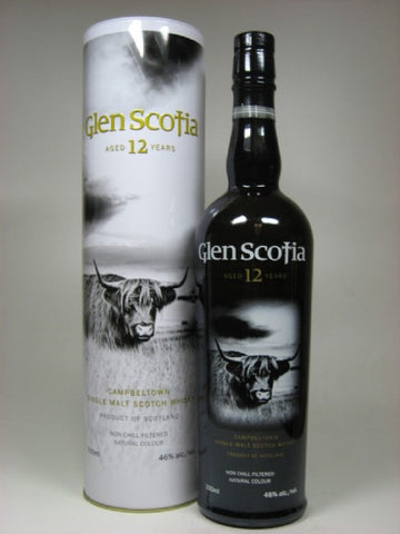 Glen Scotia 12 yo Campbeltown Single Malt Scotch Whisky