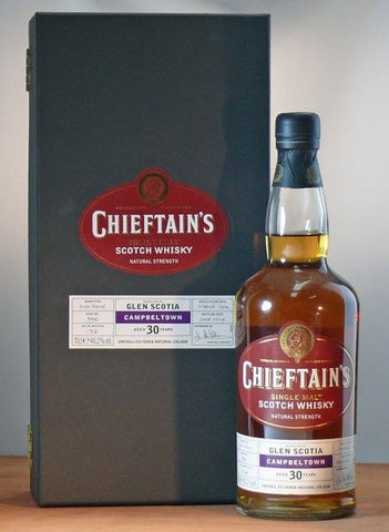 Glen Scotia 30 yo Scotch whisky buy Chieftains