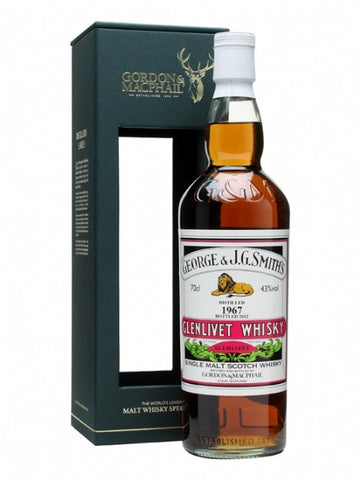 Glenlivet 21 yo Single Malt Scotch Gordon and Macphail Distillery Label Bottling