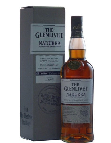 Glenlivet Nadurra First Fill Oloroso Scotch Whisky