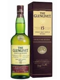 Glenlivet 15 year old whisky