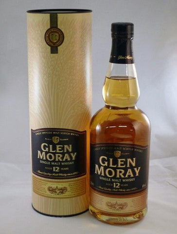 Glen Moray 12 year old single malt whisky