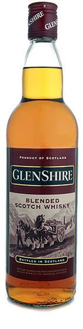 Two Bottles of Glenshire Blended Scotch Whisky
