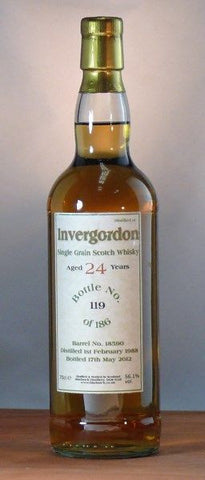 Invergordon 24 yo grain whisky