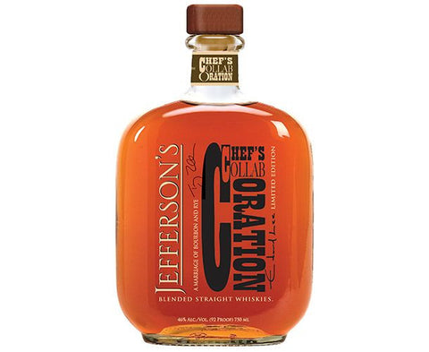 Jefferson's Chef's Collaboration Blended Straight Whisky - Limited Edition