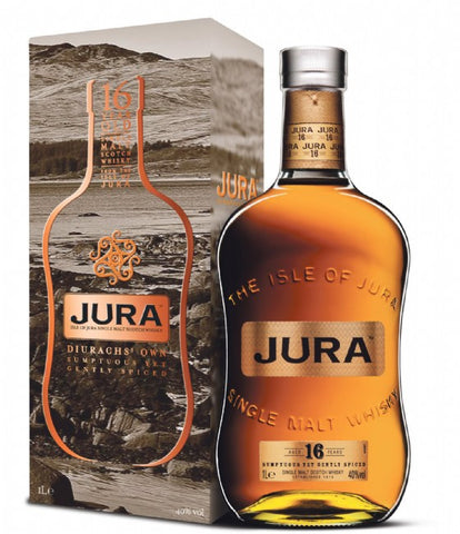 Isle of Jura 16 Diurachs' Own Scotch Malt Whisky