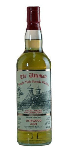 Linkwood 2008. 7 year old single malt whisky by Ultimate