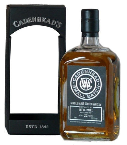 Littlemill 22 year old by Cadenheads