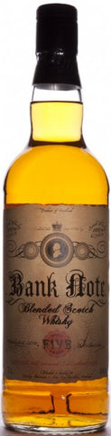 Bank Note 5 yo Blended Scotch Whisky