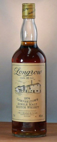 Longrow Scotch Whisky. 1974.