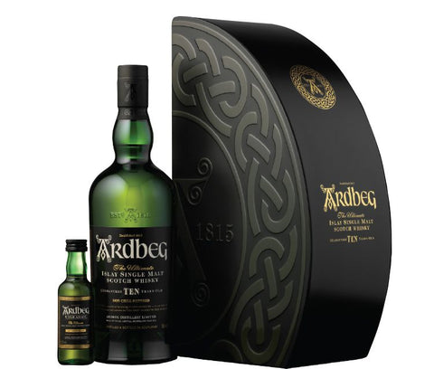 Ardbeg Quadrant Gift Pack with mini Uigeadail