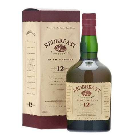 Redbreast 12 year old Irish whiskey