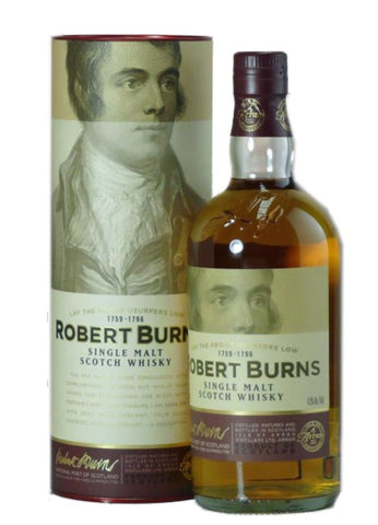 Robert Burns Single Malt Scotch Whisky from Arran