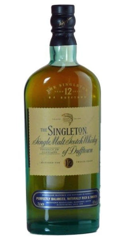 Singleton of Dufftown 12 yo single malt whisky