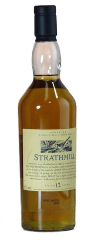 Strathmill 12 year old whisky