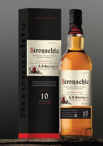 Stronachie 10 year old Single malt whisky