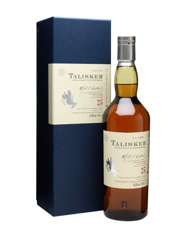 Talisker 25 year old whisky