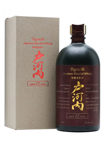 Togouchi 12 year old Japanese whisky