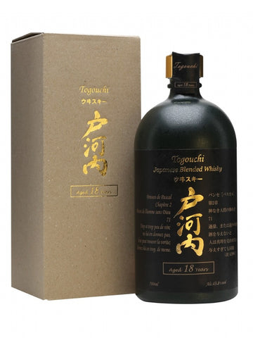 Togouchi 18 year old Japanese whisky