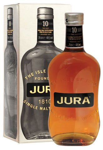 Isle of Jura 10 year old Scotch Malt Whisky