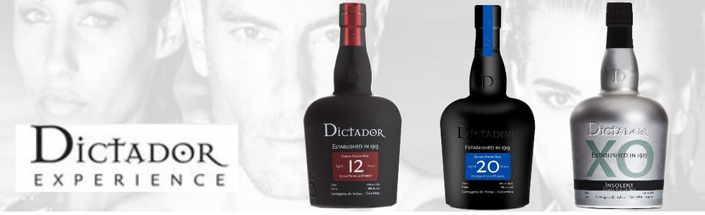 dictador columbian rum and gin