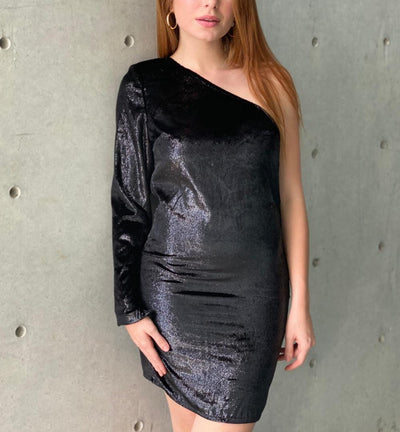 Glitter Alejandra Dress-Dresses-Le Menina Boutique