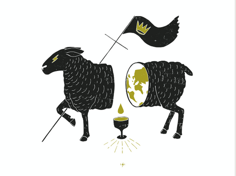 Slain Lamb Icon