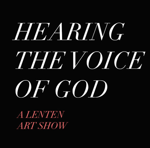 Hear the Voice of God -  Art Work Digital Package