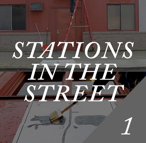 Stations In The Street -  Art Work Digital Package
