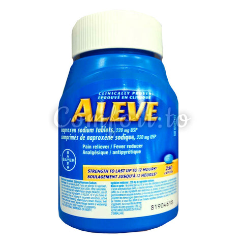 Bayer Aleve 220 mg Liquid Gels, 160 gels