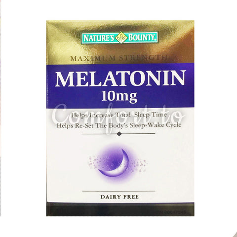 Nature's Bounty Melatonin 10 mg, 180 tablets