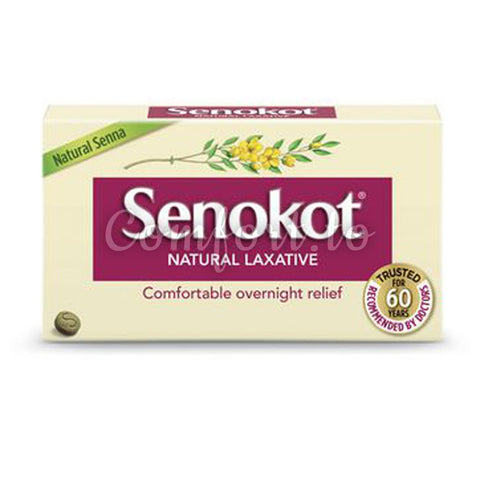 Senokot Natural Laxative, 200 senna tablets