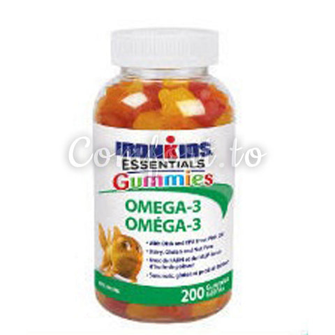 Iron Kids Omega 3, 200 gummies