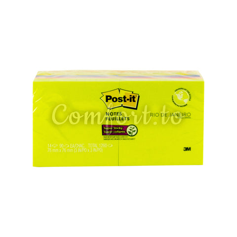 Post-It Sticky Notes, 14 x 90 sheets