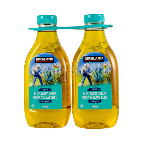 Kirkland Signature Agave Syrup, 2 x 0.7 L