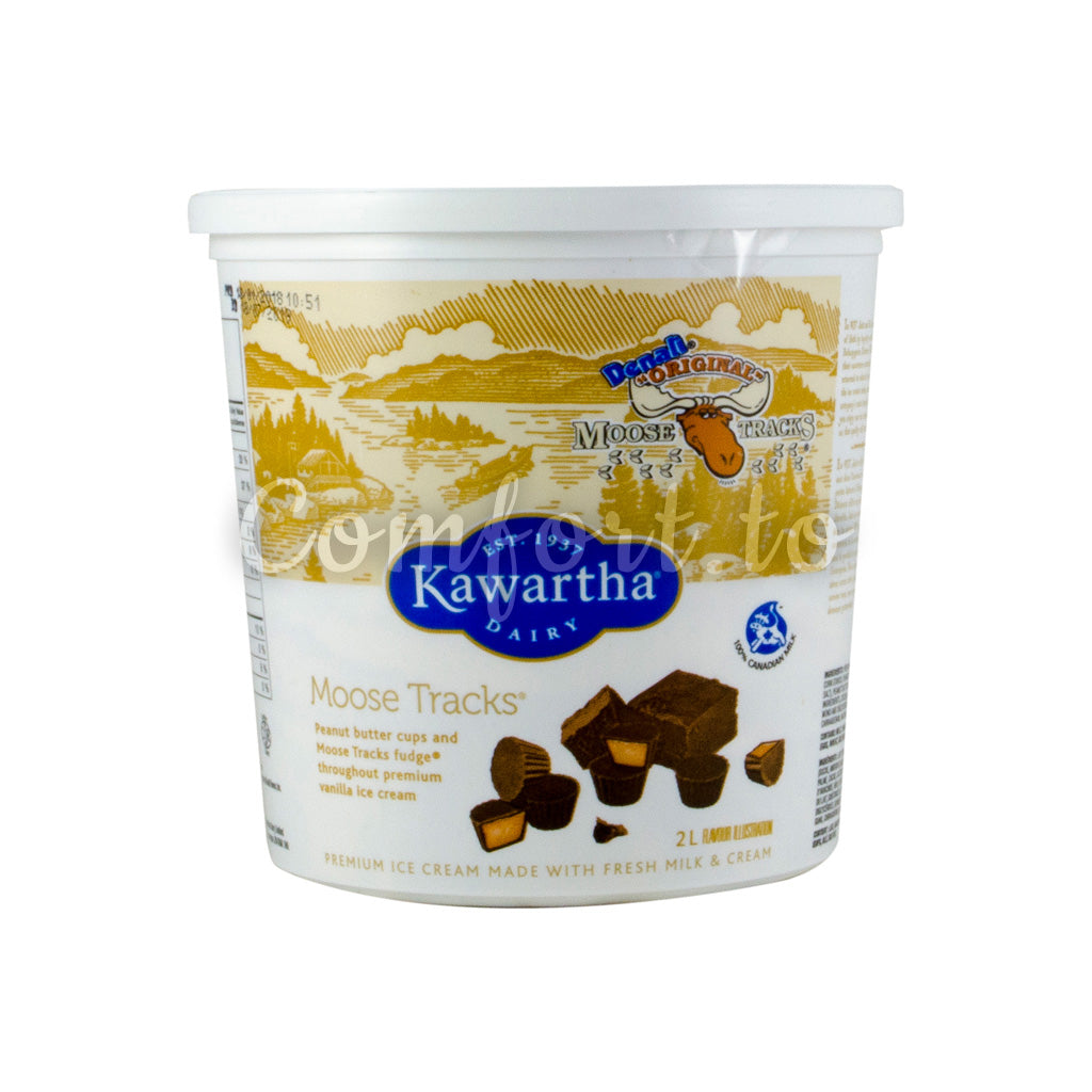 Kawartha Dairy Moose Tracks Icecream, 2 L