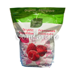 Nature's Touch Organic Raspberries, 1.5 kg