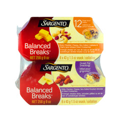 Sargento Balanced Breaks , 12 x 43 g