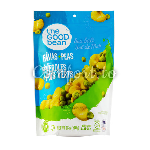The Good Bean Crispy Favas & Peas, 510 g