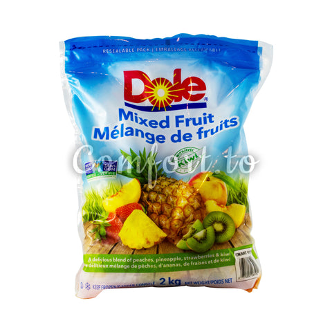 Frozen Dole Mixed Fruit with Kiwi, 2 kg
