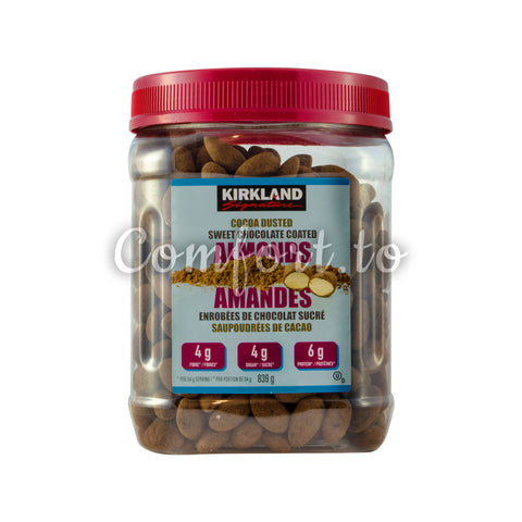Kirkland Signature Cocoa Dusted Almonds, 839 g