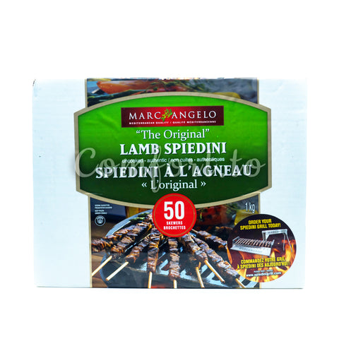 Frozen Marc Angelo The Original Lamb Spiedini, 1 kg